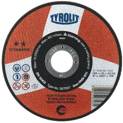 DISCO C EXTRADELGADO TYROLIT PREMIUM 125X1 MM
