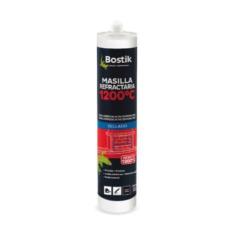 MASILLA REFRACTARIA CARTUCHO BOSTIK 310 ML