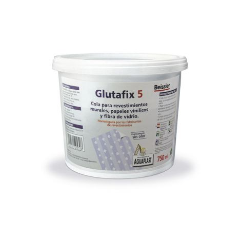 COLA EMPAPELAR P.VINILICOS GLUTAFIX 5 750 ML