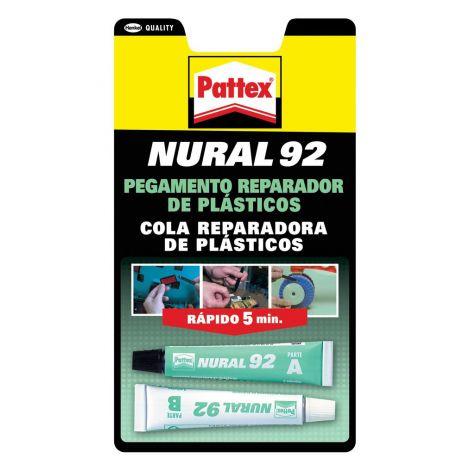 PEGAMENTO PLASTICO NURAL 92 PATTEX 22 ML