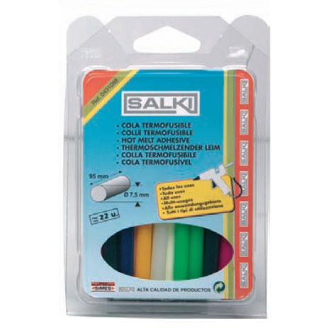 BARRA TERMOFUS COLORES 120G SALKI 8X95 MM