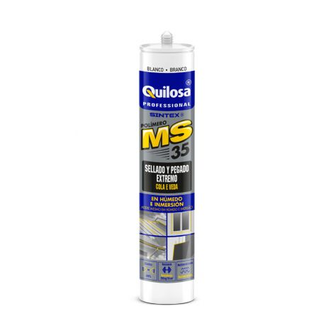 SELLADOR CONSTRUCCION BLANCO SINTEX MS 35 300 ML