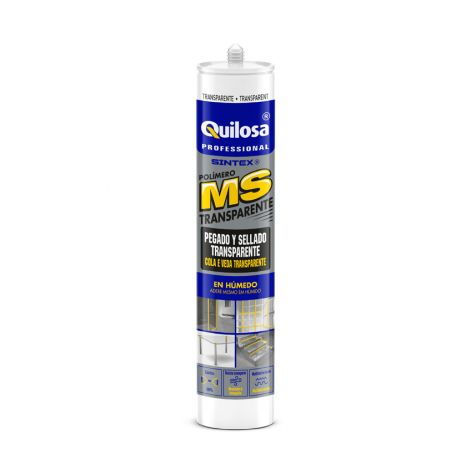 SELLADOR CONSTRUCCION TRANSPAR SINTEX MS PLUS 280 ML