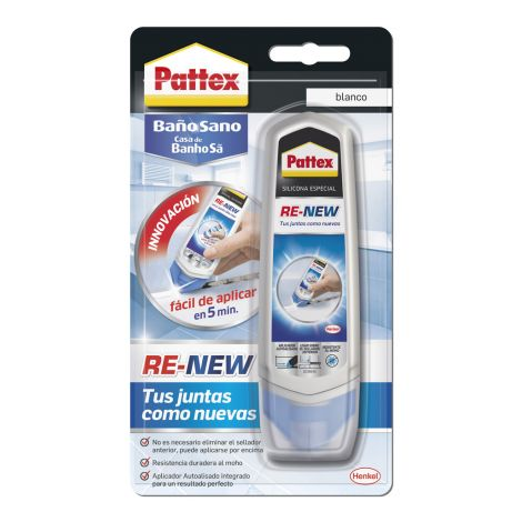 SILICONA BAÑO SANO RE NEW PATTEX 100 ML