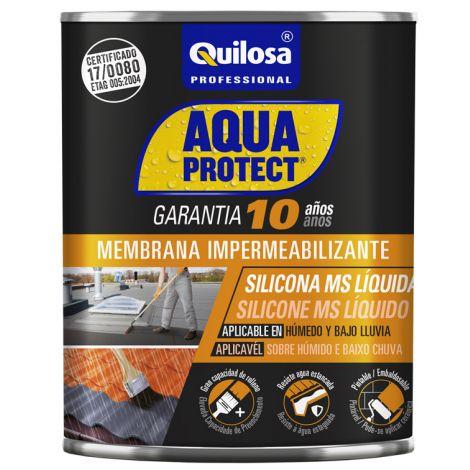 SILICONA LIQUIDA MS GRIS AQUA PROTEC 1 KG