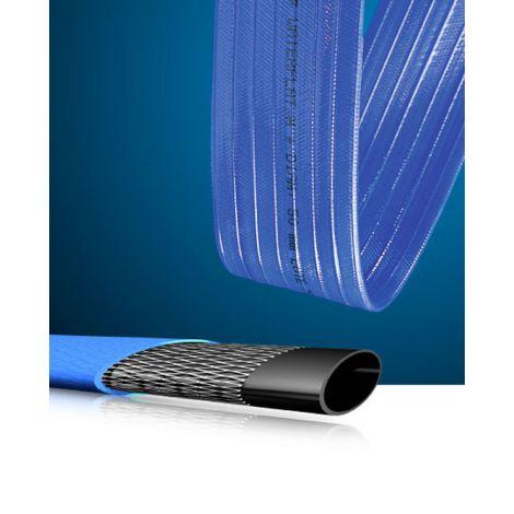 MANGUERA PLANA AZUL FLATM 40MM ESPIROFLEX R/100 M