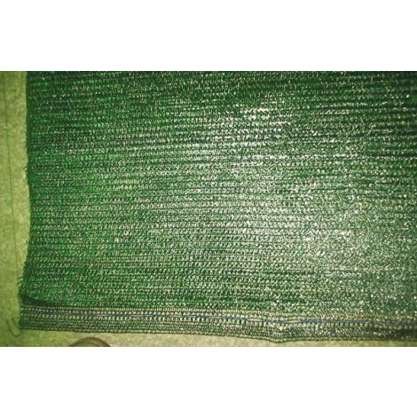 MALLA OCULTACION VERDE 155G/M2 PROFER GREEN 1.5X50 M