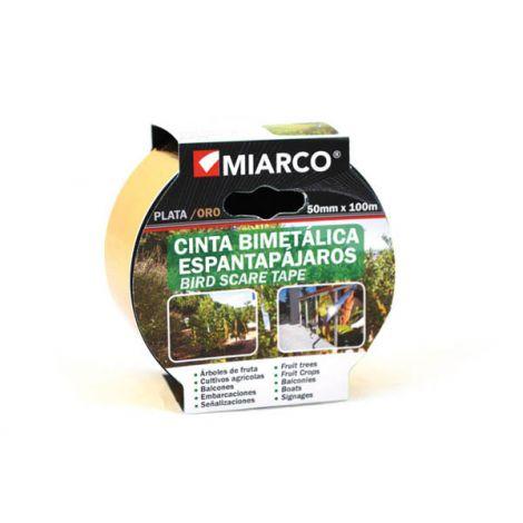CINTA METALICA ORO/PLATA ESPAN MIARCO 50MMX100MT