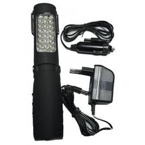 LAMPARA ARTICULADA 26 LED+CARG SALKI