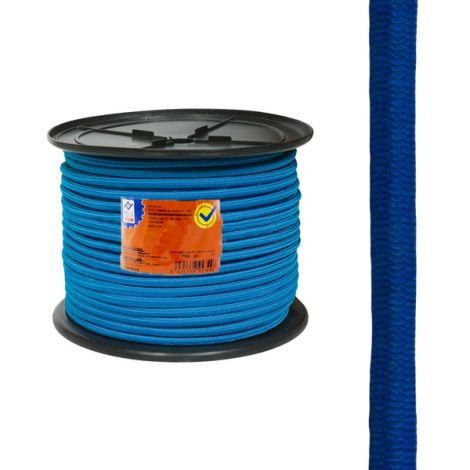 GOMA ELASTICA CARRET.6MM AZUL PROFER HOME 200 M