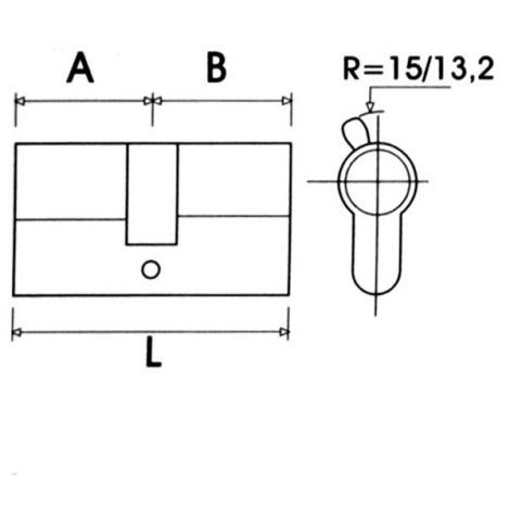 BOMBILLO P/ METALICA NIQUEL LC TESA 35X35 MM