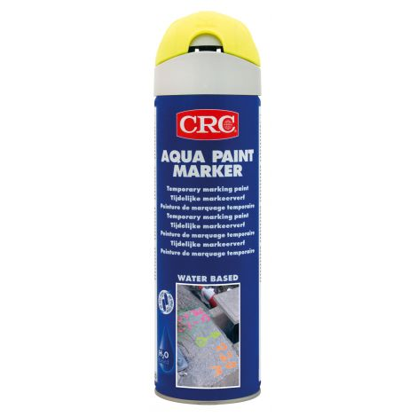 MARCADOR AQUA PAINT AMARILLO CRC 500 ML