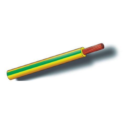 CABLE LINEA FLEXIB AZUL 100MT SEDILES 6 MM