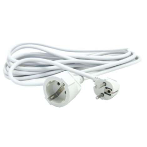 PROLONGADOR CABLE 2M BCO 16A SILVER 3X1.5 MM