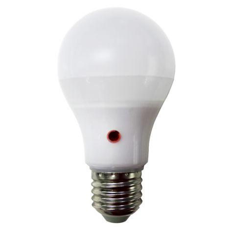 LAMPARA LED STANDARDC/SENS E27 HIDALGO 9 W