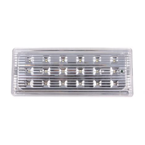 LUMINARIA EMERGENCIA 18 LED EMERLIGHT 110X50X266
