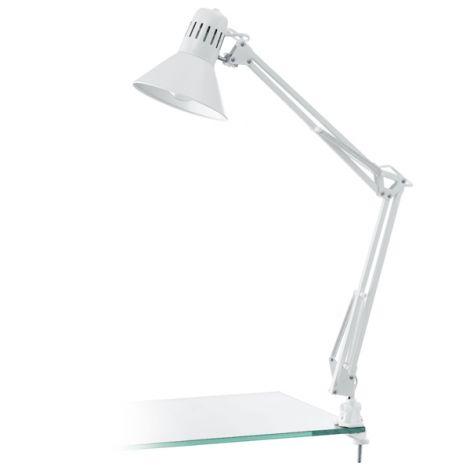 LAMPARA ARQUITECTO BLANCO E27 FIRMO 40 W