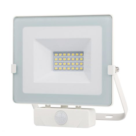 FOCO LED BLANCO IP65 C/SENSOR  20 W