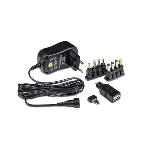 ALIMENTADOR UNIV 8 CONECT+USB DCU