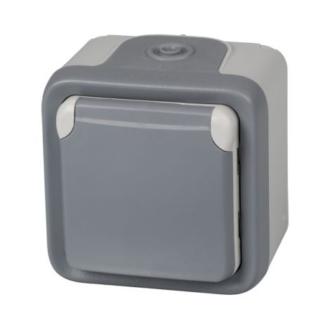 BASE ENCHUFE C/TT IP55 GRIS LEGRAND