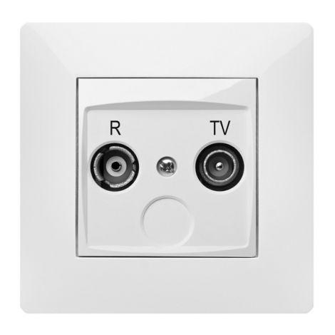 BASE TV EMPOTRAR BLANCO FAMATEL 9.5 MM