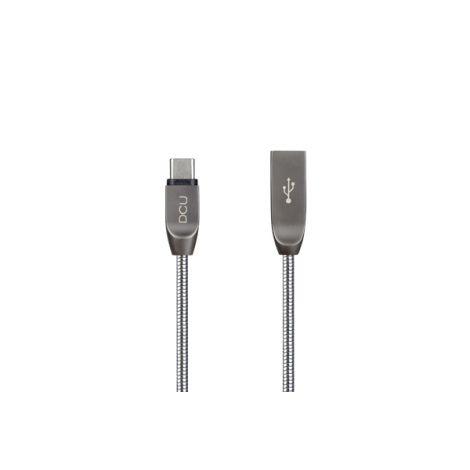 CABLE USB/USB-C PURE METAL DCU