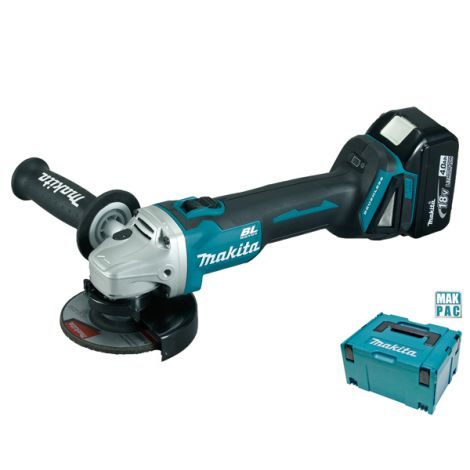 AMOLADORA MINI BAT LI 115MM 2B MAKITA 18 V