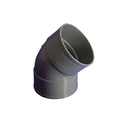 CODO H-H 45º 32 CM TECNOAGUA 32 CM