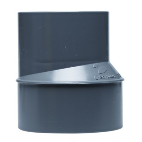 REDUCCION EXCENTRICA PVC M/H CREARPLAST 50-40