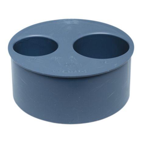 TAPON REDUCIDO CIEGO PVC 40-32 CREARPLAST 110 MM