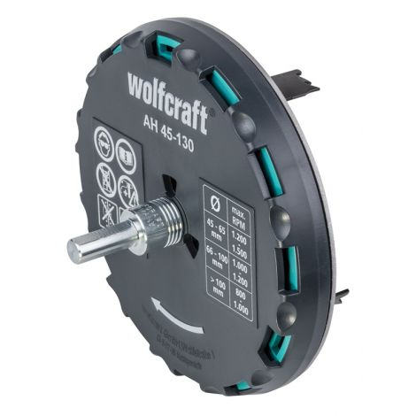 CORONA AJUSTABLE YESO Y BLANDO WOLFCRAFT 45-130 MM