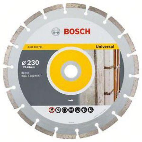 DISCO DIAMANTE UNIV 2UD +TUERC BOSCH 230 MM