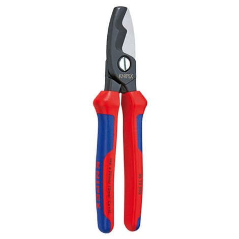 ALICATE CORTACABLE CORTE DOBLE KNIPEX 200 MM
