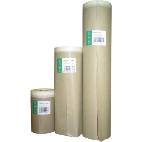 PAPEL KRAFT PLUS C/CINTA 20M NERPEL PLUS 30 CM