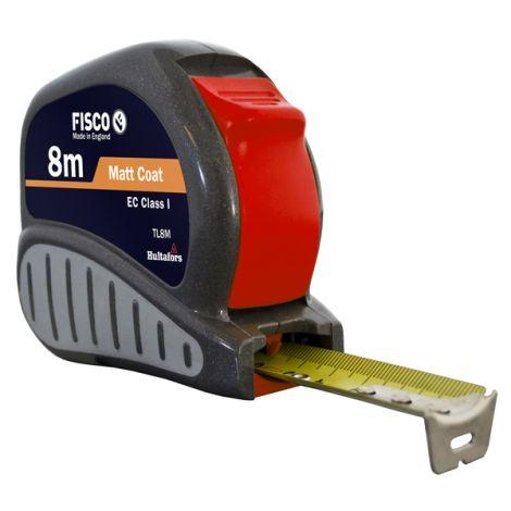 FLEXOMETRO TRI-LOCK C/FRENO FISCO 8MTX25 MM