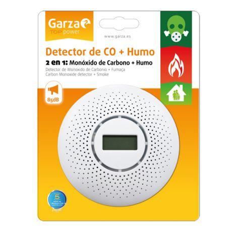DETECTOR CO + HUMO GARZA
