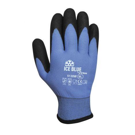 GUANTE FRIGO NYLON VULRIZO PVC ICE BLUE T.10