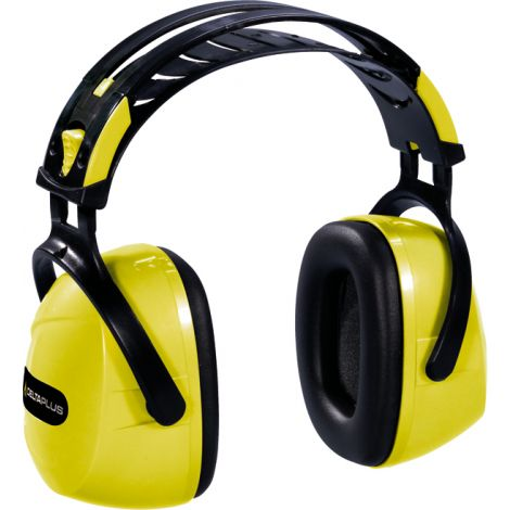 CASCO OREJERA AMARILLO DELTA PLUS 33 DB