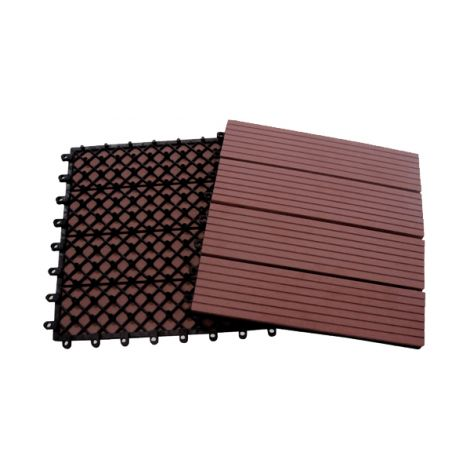 LOSETA COMPOSITE CHOCOLATE PROFER G 30X30 CM