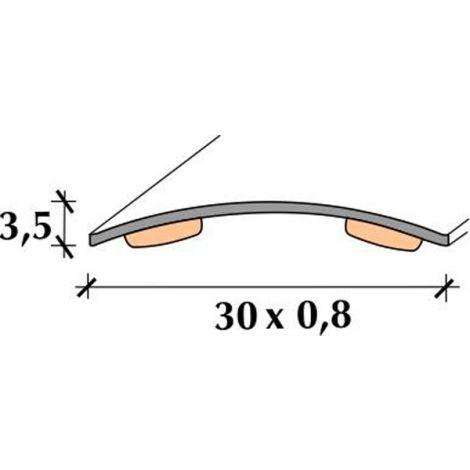 TAPAJUNTAS INOX M/C ADH 83 RUFETE 30 MM