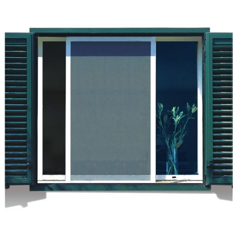 MOSQUITERA ALUM CORREDE KIT BC NORTENE 60X130 MM