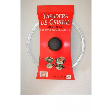 TAPA COCINA CRISTAL BAJA TECNHOGAR 20 CM