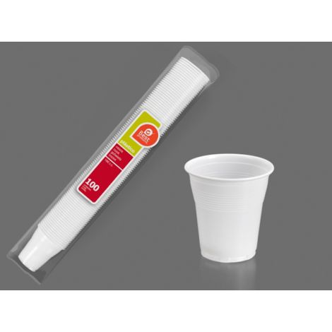 VASO DESECHABLE BLANCO B/100 BEST 150 CM3