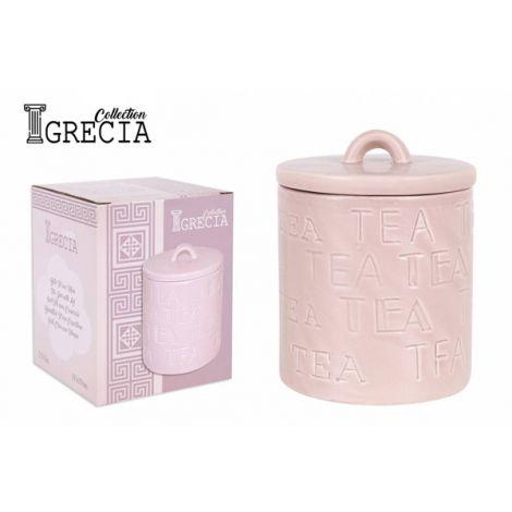 BOTE C/TAPA GRECIA TEA