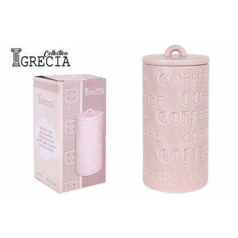 BOTE C/TAPA GRECIA COFFEE