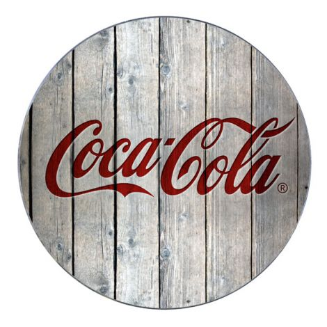SALVAPLATOS COCA COLA WOOD WENKO 20CM