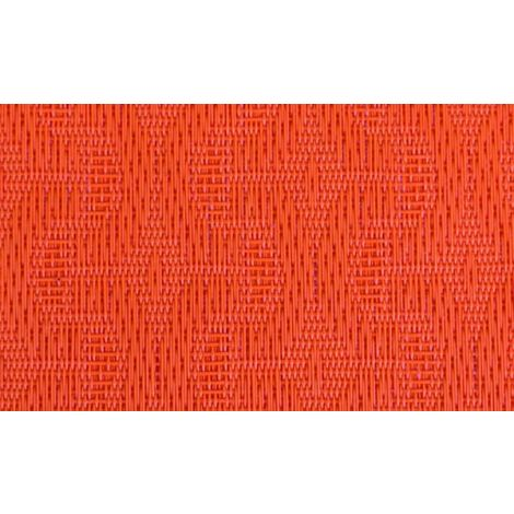 MANTEL INDIVIDUAL PVC NARANJA  49X36 CM