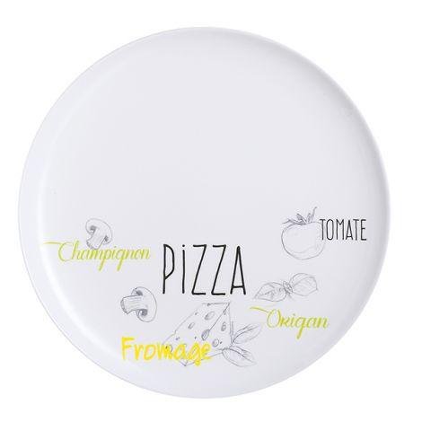 PLATO ESPECIAL PIZZA BISTROT LUMINARC 32 CM