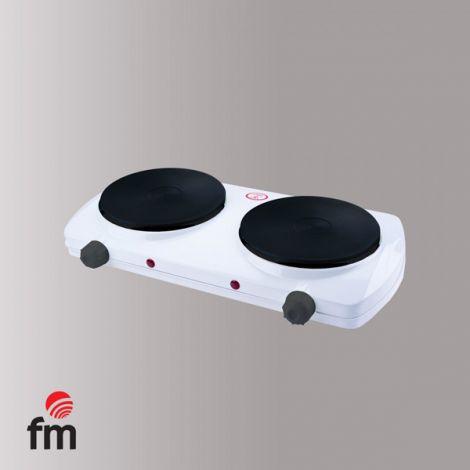 COCINA ELECTRICA 2 FUEGO FM 2500 W