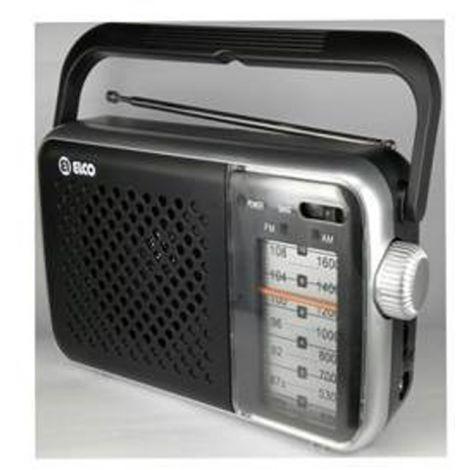 RADIO TRANSISTOR RED/PILAS ELCO